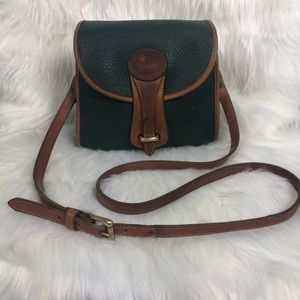 Vintage Dooney & Bourke AWL Green Essex Bag